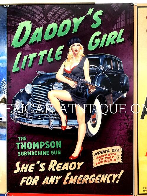 Pin-up girl  / Signboard