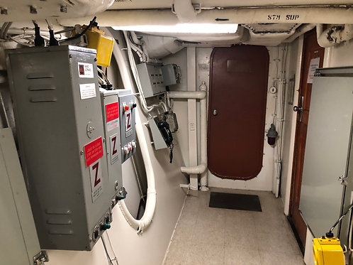 戦艦アイオワ 船内09