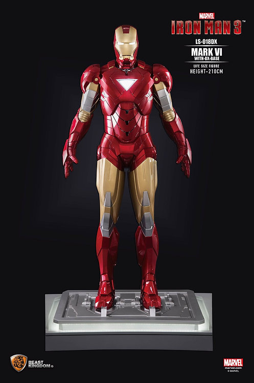 Iron Man Mark VI / H210 x W90 cm