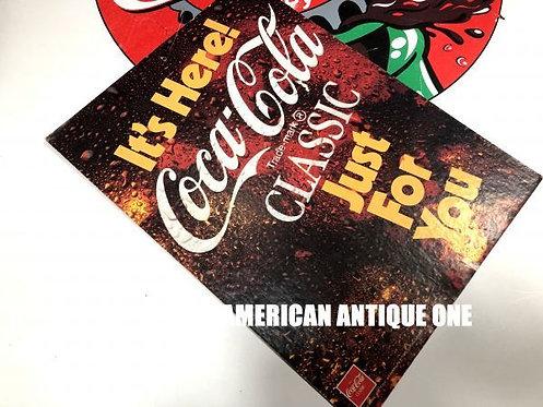Coca-Cola Reversible Poster