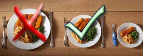 10 trucos para controlar las porciones