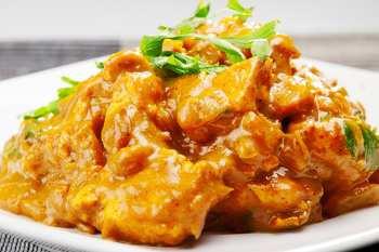 Manjar de Pollo al curry light
