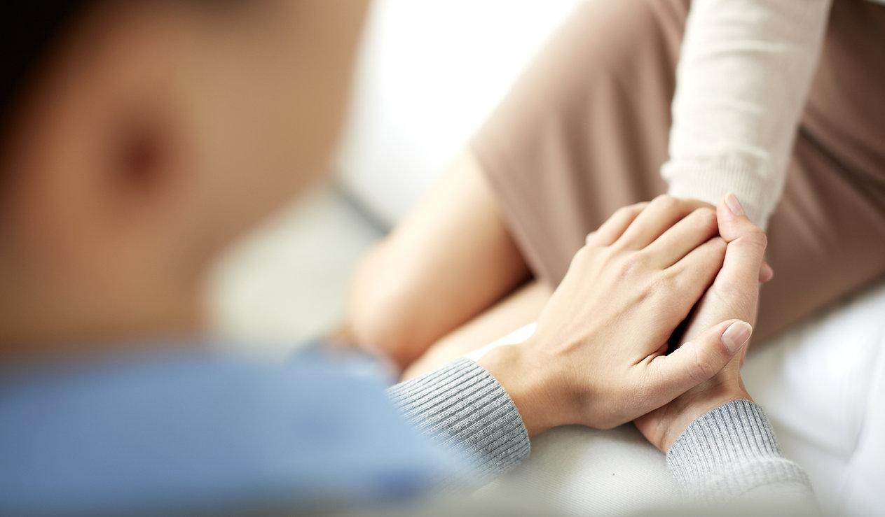 Утешительный Руки