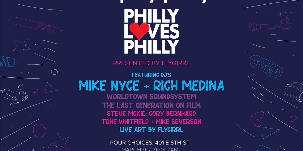 Philly Loves Philly Party