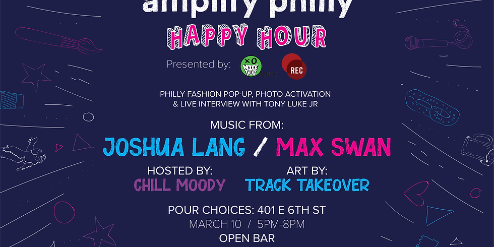 Amplify Philly Happy Hour w/ REC Philly & nicethingsMUSIC