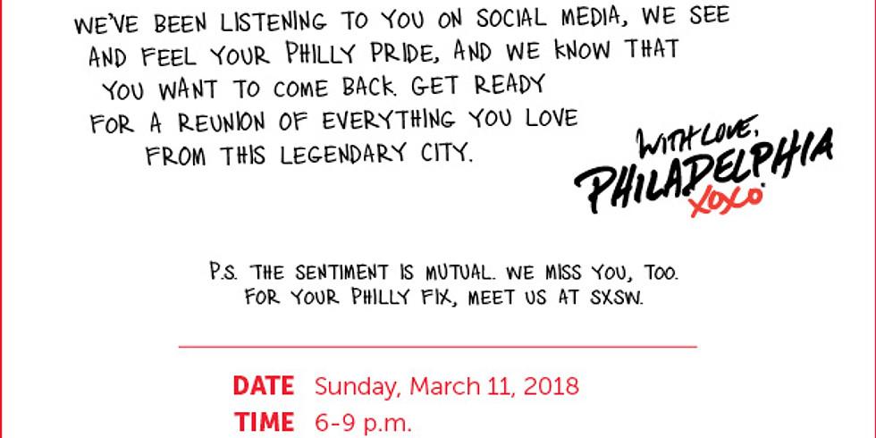 Visit Philadelphia Presents: Homesick Philly® Happy Hour