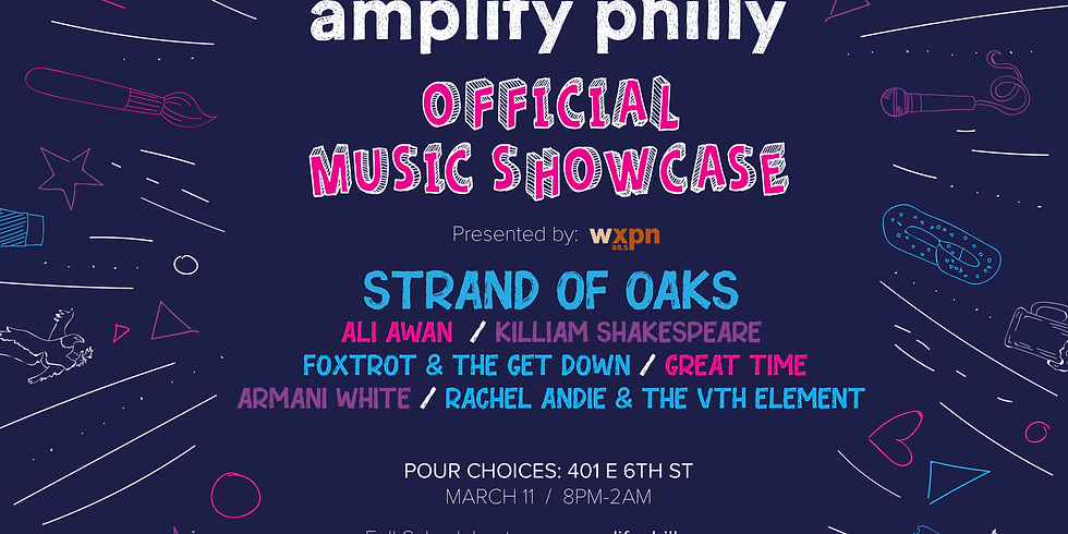 Amplify Philly Official Music Showcase presented by WXPN