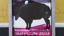 Awarded 'Best Product - Material/Finish' at BUFFCON 2017