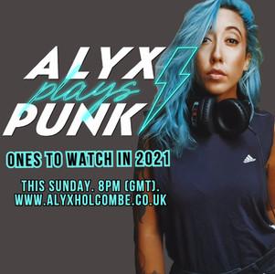 Ecoutez Alyx Plays Punk en 2021