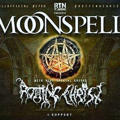 Live report MOONSPELL – ROTTING CHRIST – SILVER DUST 31/10/2019