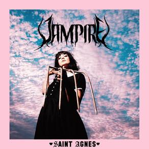 """SAINT AGNES :  """" Vampire"""" le mini album sort aujourd'hui !"""