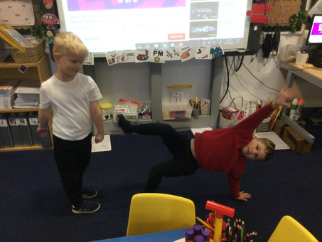 Year 1 Groovy Gymnasts