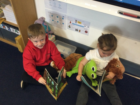 Reading Pets in 1B