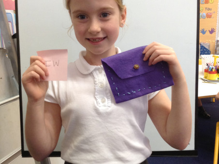 Sewing purses in 4B