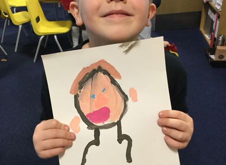 1B's Amazing Self Portraits