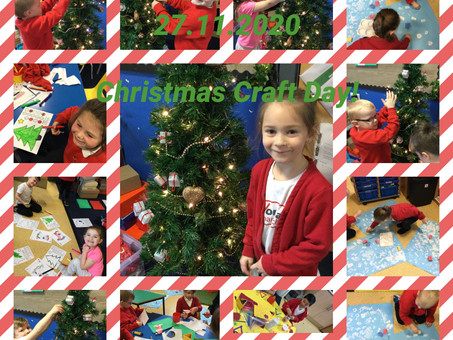 Christmas Craft Day in 1B