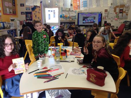 World Book Day in 4B #English #Reading #Fun
