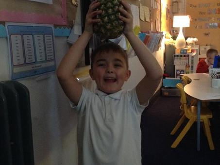 Pineapple of bravery in 4B
