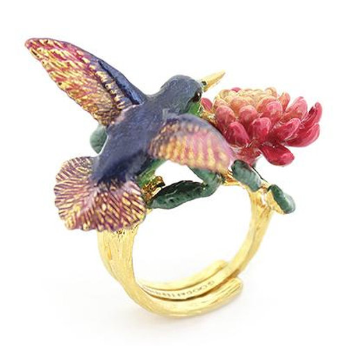 HUMMING MELODY STATEMENT RING