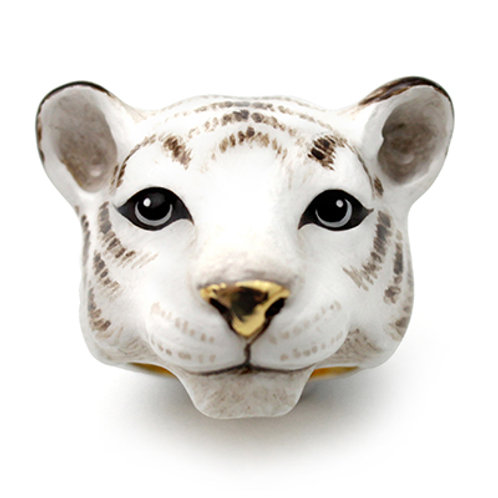 SNOW BENGAL TIGER RING