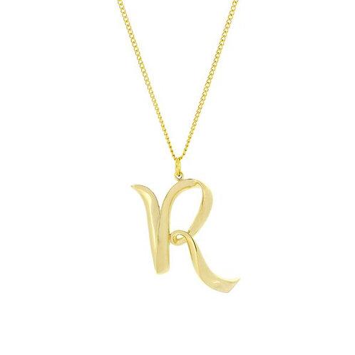 Alphabet R Necklace