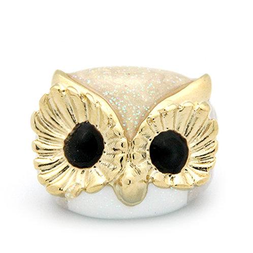 STAR OWL RING