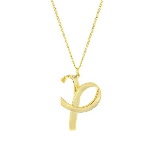 Alphabet P Necklace