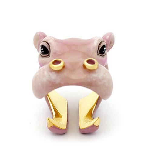 HAPPY HIPPO RING