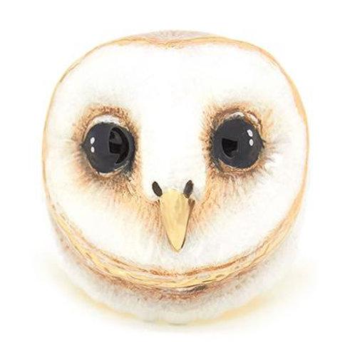 LUCKY BARN OWL RING
