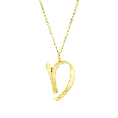 Alphabet D Necklace