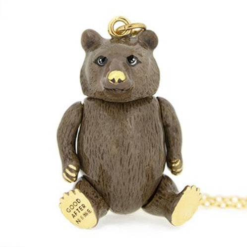 TONY GRIZZLY BEAR NECKLACE