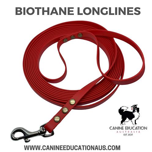 Biothane Longline Leashes