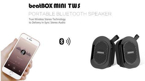 Jabees beatBOX MINI TWS 完全ワイヤレススピーカー