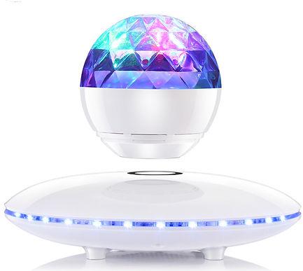 宙に浮くスピーカー LED Flash
