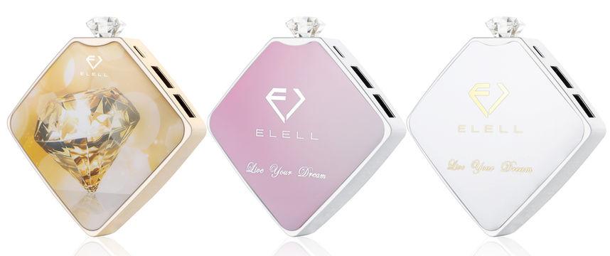 ELELL, 可愛い充電器,可愛いモバイルバッテリー, パワーバンク, 自撮り