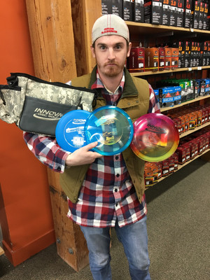 Stash buys 15 more discs, doesn't throw for next 3 months