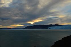 Greenland midnight