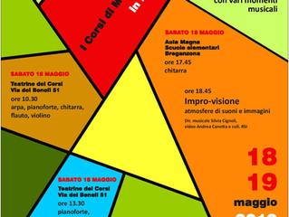 18 e 19 MAGGIO 2019, I CORSI DI MUSICA IN FESTA