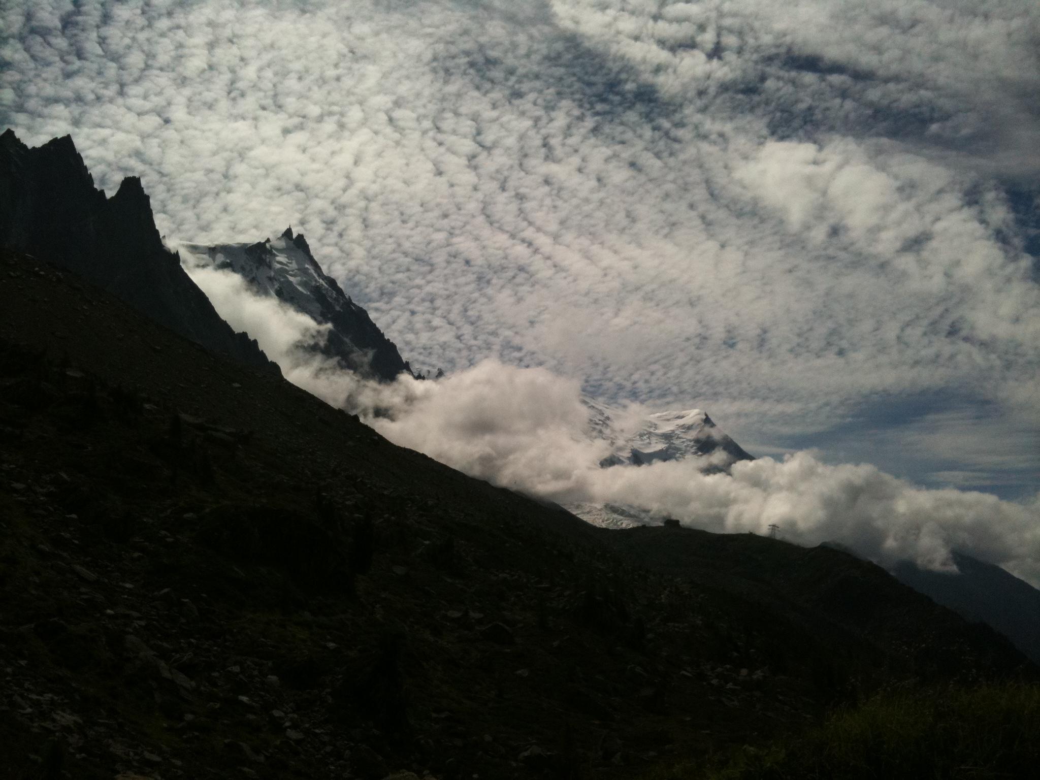 Near Mt Blanc