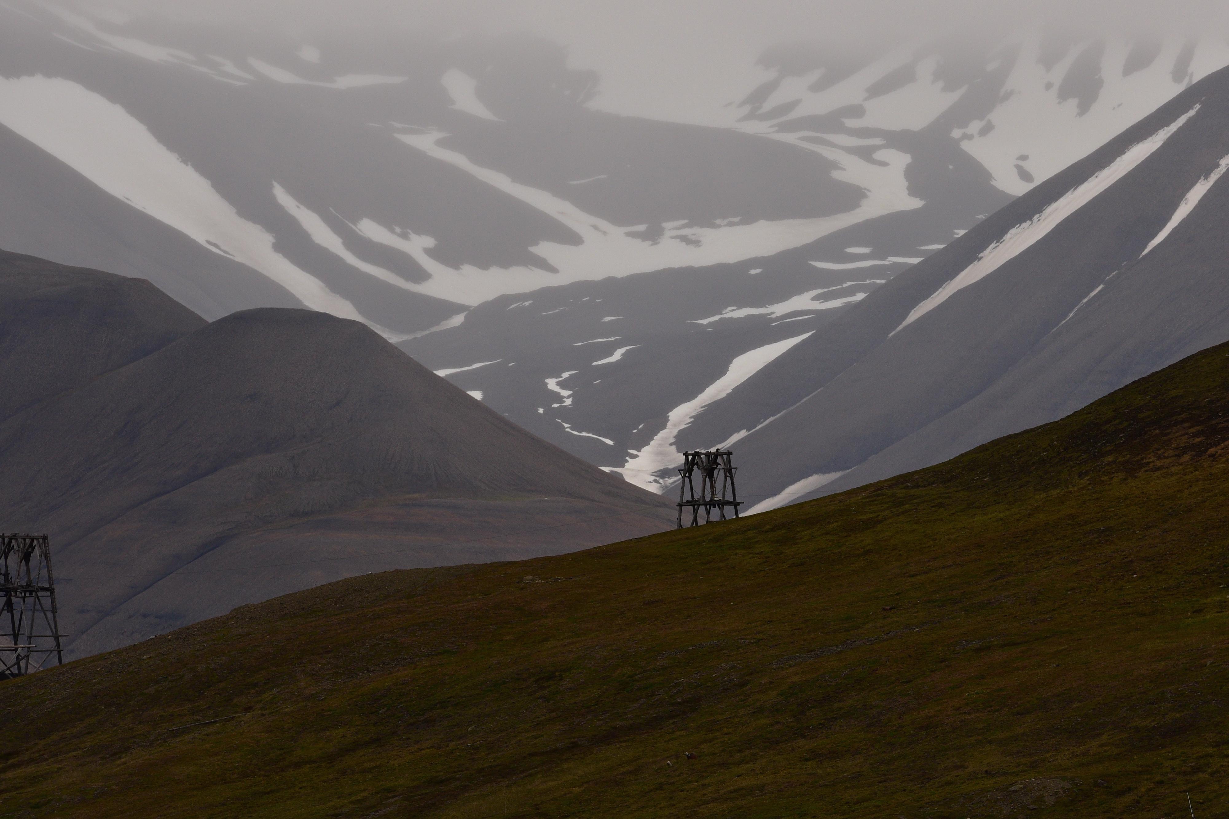 Longyearben, Svalbard 2015