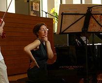 Caterina Gisi pianoforte Breganzona Lugano