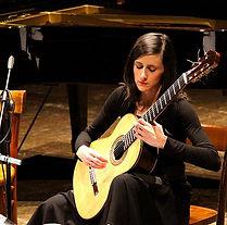 Silvia Cignoli chitarra Breganzona Lugano
