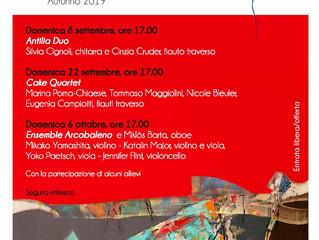 Docenti in concerto: prima rassegna concertistica dell'Associazione Corsi di Musica Breganzona