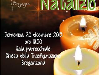 Auguri in musica: il 20 dicembre vieni al nostro concerto!