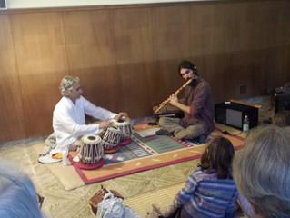 Profumi musicali dall'India: Bansuri e Tabla per aprire i festeggiamenti