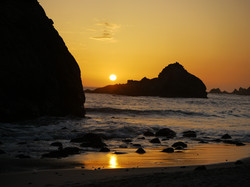 Pfieffer Burns Beach Sunset 2011