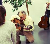 Aldo Steiger chitarra Breganzona Lugano