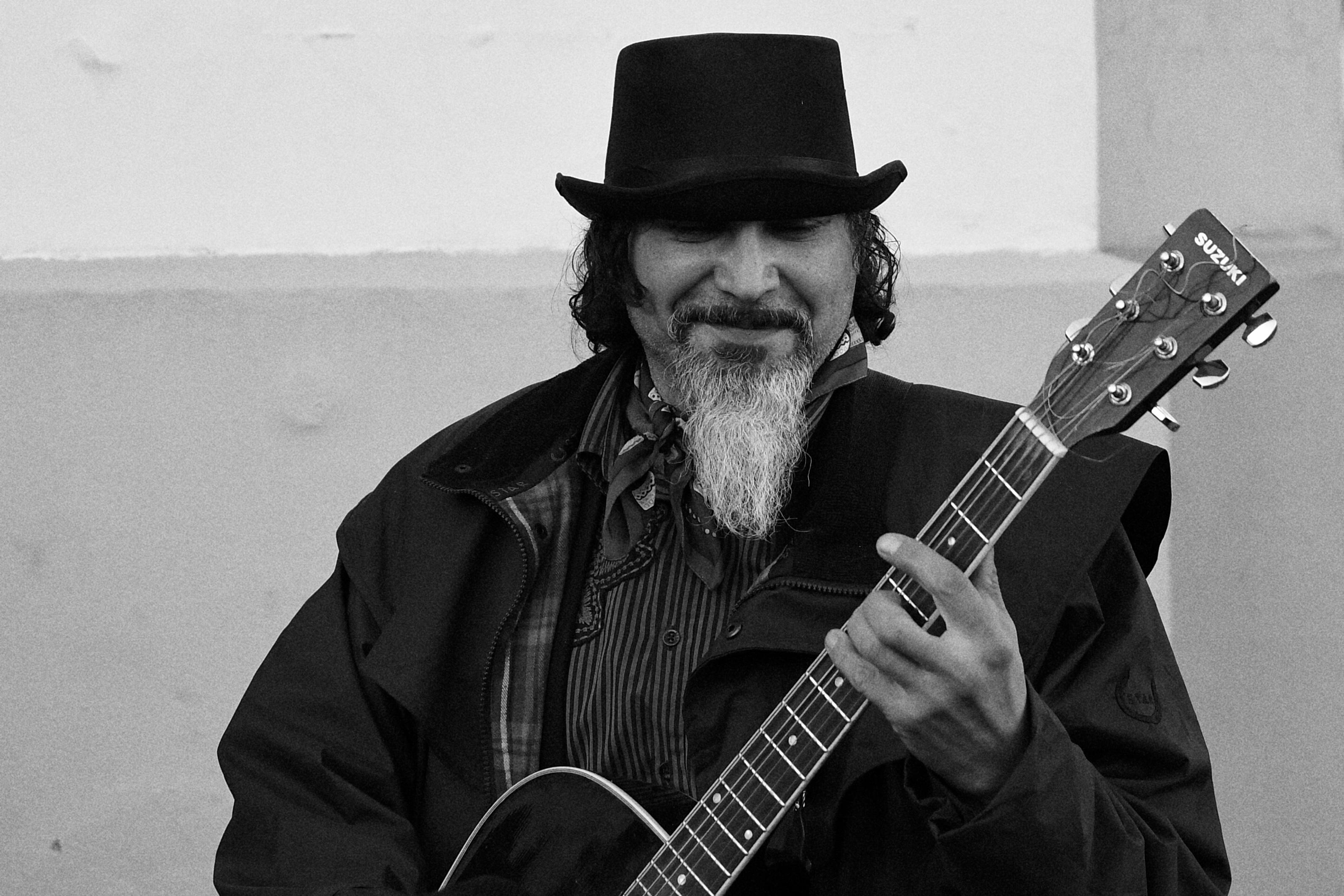 Street musician, Brussels 2016