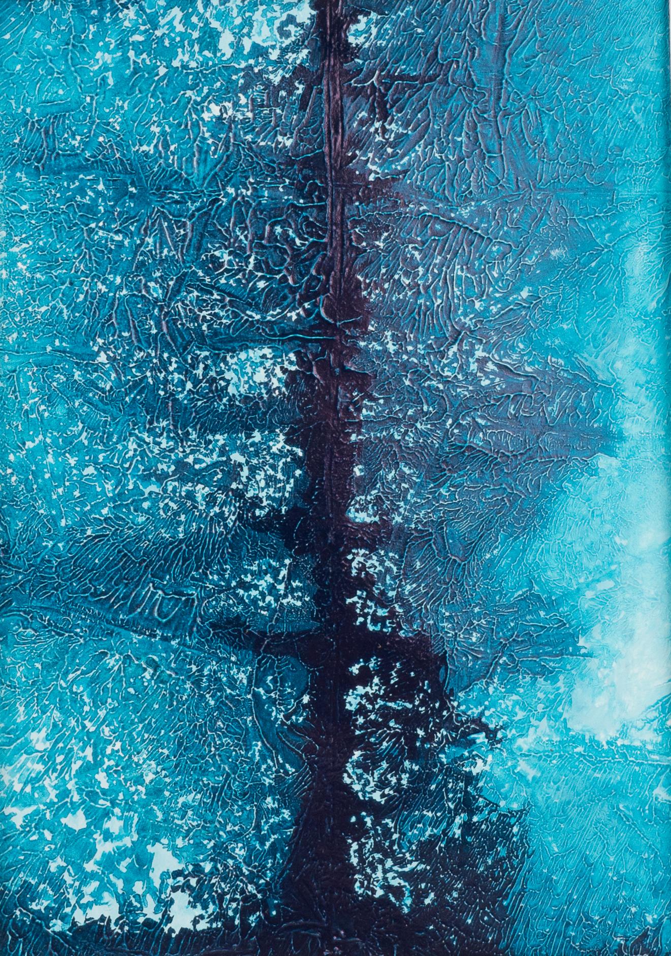 Clear blue tree 1