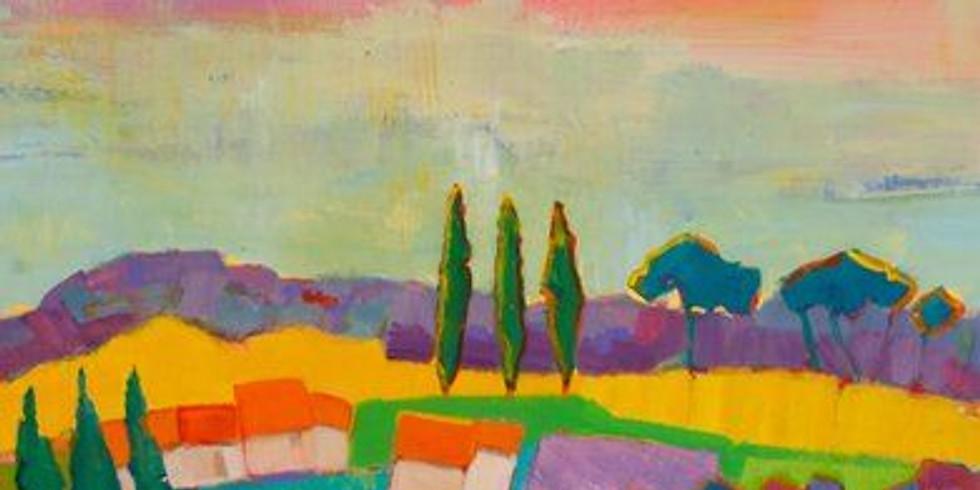 Kleurrijke droomlandschappen ( 6-12j)